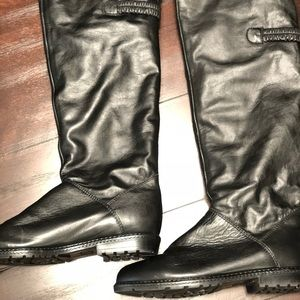 Shoes - Canadian made leather and faux fur boots